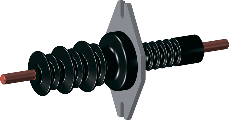 изоляторы проходные полимерные
